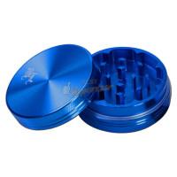 Гриндер для измельчения 'Black Leaf' , Ø 50 mm, 2 секции, синий
