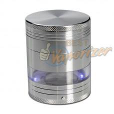 Премиум гриндер с подсветкой и прозрачной камерой, 4 секции, Ø 50 mm
