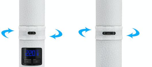 Вапорайзер Focusvape Pro изолированный воздуховод и управляемый воздушный поток